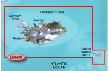 Garmin Blue Chart g2 - Iceland and Faeroe Islands
