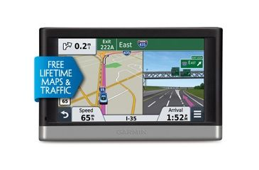 Garmin Nuvi GPS 2457  w/ Lifetime Maps and Traffic HD 010-01124-24