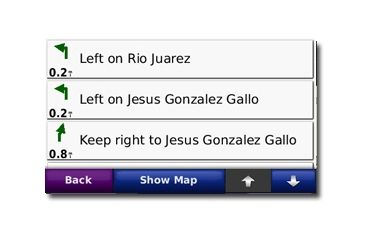 Garmin On the Road Maps GPS City Navigator® Mexico NT