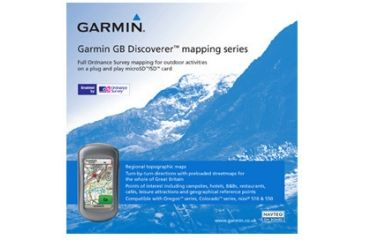 Garmin On the Trail Maps GPS GB Discoverer-Yorkshire Wolds Way 010-C0965-00 w/ Free S&H