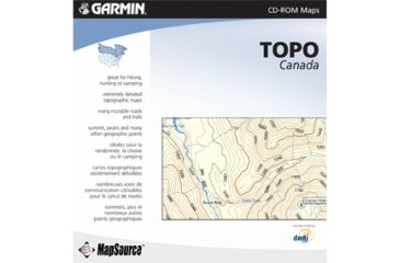 Garmin On the Trail Maps GPS MapSource TOPO Canada 010-10469-00