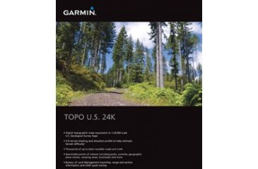 Garmin On the Trail Maps GPS TOPO U.S. 24K Mountain Central - Colorado & Utah 010-C0950-00 w/ Free S&H