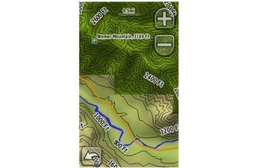 Garmin On the Trail Maps GPS TOPO U.S. 24K West DVD 010-11314-00