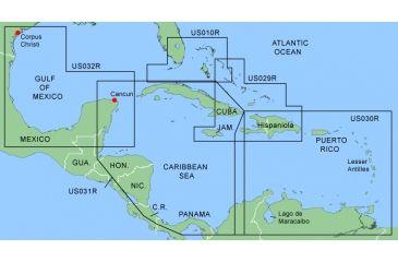 Garmin On The Water GPS Cartography BlueChart: Caribbean & Central America Regular Map w/ Free S&H