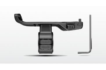 1-Garmin Scope Mount, 1in and 30mm for VIRB Action Camera