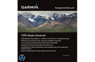 Garmin Topo Alaska Enhanced 010C105700