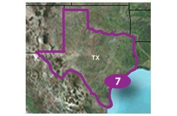 Garmin TOPO US 24K Detailed Map - Texas
