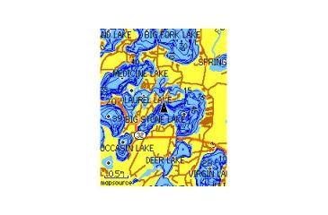 2-Garmin U.S. Inland Lakes microSD/SD card GPS Map