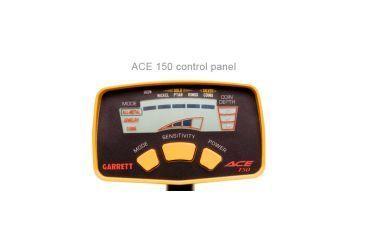 Garrett ACE 150 Metal Detector Control Panel