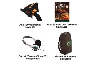 Garrett ACE 250 Metal Detector SPORT PACK - Included Accessories