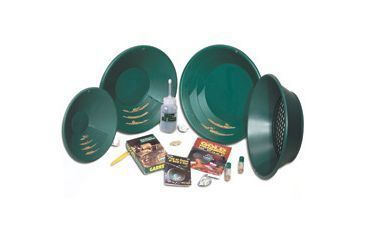 1-Garrett Deluxe Gold Pan Kit 1651410