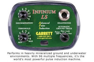 Garrett Infinium Land And Sea Metal Detector With Power