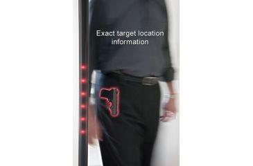 Garrett PD 6500i Walk-Through Metal Detector - 33 Detection Zones