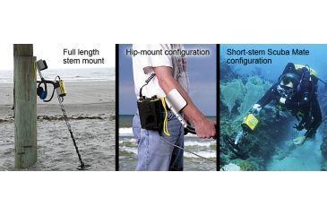 Garrett Seahunter Submersible Metal Detector configurations