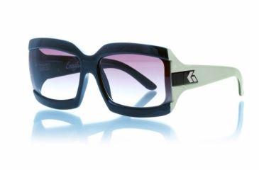 Gatorz Emibcm03fBcm Emilia Black Camel Frame Brown Fade Lens Sunglasses