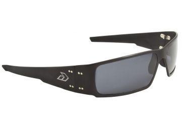 Gatorz Octane Sunglasses, Matte Black Frame, Grey Polarized Lens OCTMBK01P