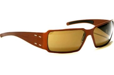 Gatorz Boxster Sun Glasses, Desert Brown Frame, Brown Lens