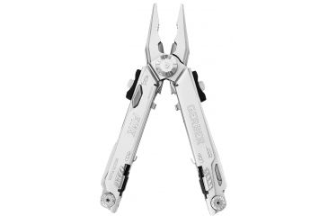 Gerber FliK One-Hand Opening Multi-Plier - Needlenose, Stainless - Clam package