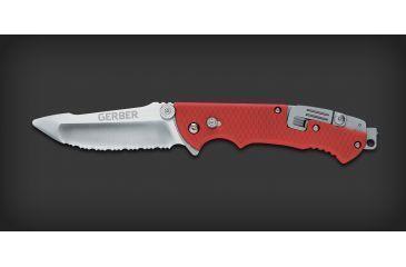 Gerber Hinderer Rescue Serrated Folding Knife Clam 22 41534
