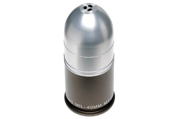 Gg G Ggg 1325 40mm Grenade Toothpick Holder Silver