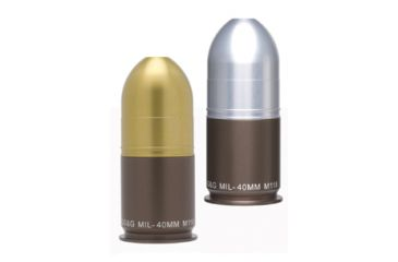 GG&G 40mm Grenade Salt & Pepper Shaker Set w/Silver & Gold Projectiles GGG-1318