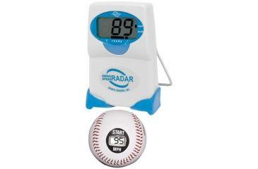 2-PC Laser Ball Sports Fan Gift Package - Laser Ball by Primary Simulation Baseball Speed, Sport Sensors Swing Speed Radar