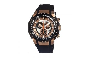 Giorgio Fedon 1919 Gfal003 Deep Sea Timer Mens Watch, Rose Gold GIOGFAL003