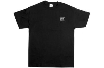 Glock GA10011 My Glock Short Sleeve T-Shirt XX-Large Black Cotton