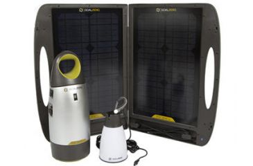 Goal Zero Escape 150 Adventure Kit with Light-A-Life Lantern, Solar Panel, Charger 29004