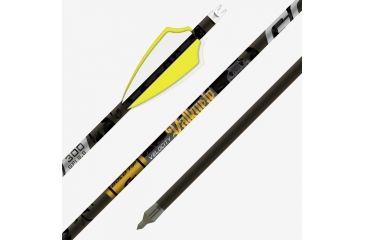 6-Gold Tip Valkyrie Arrow