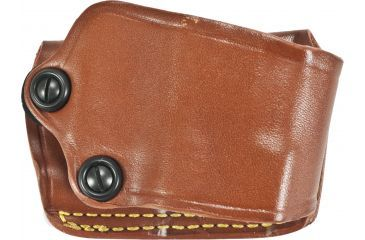 Gould & Goodrich 801 Yaqui Slide Holster, Chestnut, Right Hand - Glock 20/21, H&K USP