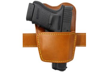 Gould & Goodrich 896-1 Ambidextrous Belt Holster with Removable Body Shield, Tan, Sig P238 896-1