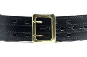 Gould & Goodrich E-Z Slide Duty Belt 4 Row Stitched Black Size 36 B49-36FL4RBR
