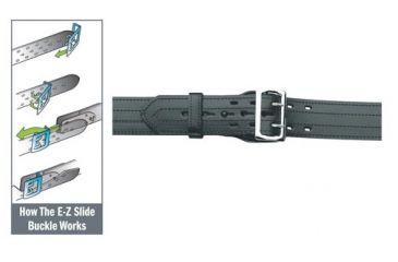 Gould & Goodrich B49 E-Z Slide Duty Belt, 4 Row Stitched