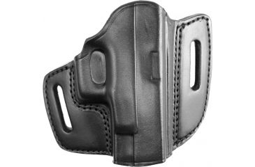 Gould & Goodrich B800-G27 Open Top Two Slot Holster, Black