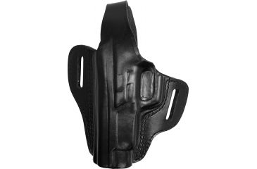 Gould & Goodrich B802-26RLH Two Slot Pancake Holster, Black, Left Hand