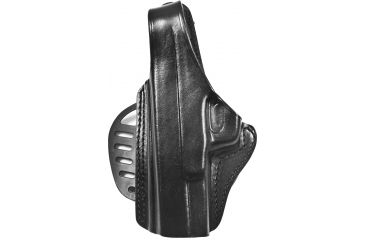 Gould & Goodrich B807-MPLH Paddle Holster, Black, Left Hand - S&W M&P 9mm/.40/.357