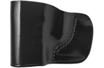 Gould & Goodrich B891 Belt Slide Holster, Black, Left Hand - Glock 30, S&W CS40, Sig 239