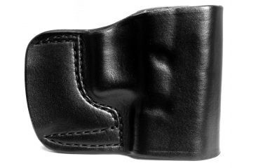 Gould & Goodrich Belt Slide Holster, Black, Plain, Right Hand - Glock 30 and Similar