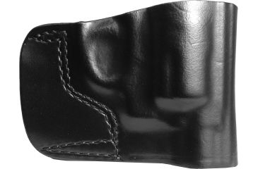 Gould & Goodrich Belt Slide Holster, Black, Plain, Right Hand - S&W J-Frame 2in. Revolvers