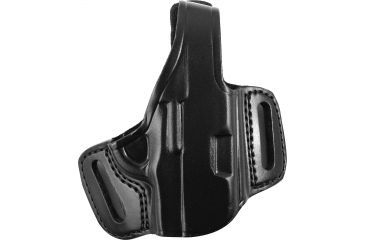 Gould Goodrich Belt Slide Leather, Black, Right Holster B809195