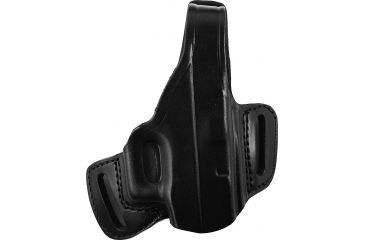 Gould Goodrich Belt Slide Leather Thumb Break Holster, Black, Right B809G20