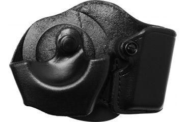 Gould & Goodrich B871 Cuff/Magazine Paddle Case, Black, Left Hand - Beretta 83/85, Walther PPK & Similar