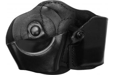 Gould & Goodrich B871 Cuff/Magazine Paddle Case, Black, Left Hand - Glock 17/19, H&K USP & Similar