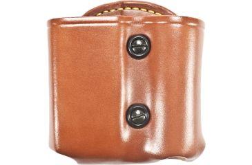 Gould & Goodrich Flashlight/Mag Case Combo, Chestnut Brown, Right Hand - Beretta Cougar & Similar