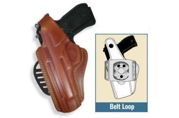 Gould & Goodrich Gold Line Paddle Concealment Holster, LH 807-250LH