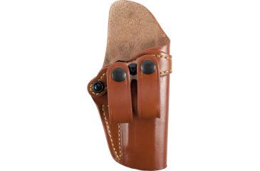 Gould & Goodrich Inside Pants Holster, Chestnut Brown, Right Hand - 4in-4.25in 1911 Type Pistols - 810-194
