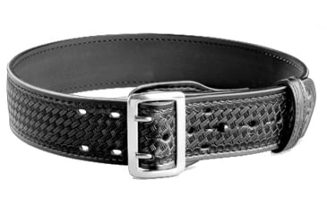G&G K59-40FLW Lined Duty Belt, Black Weave, Size 40