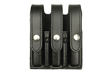 Gould & Goodrich Triple Magazine Case, Black, Glock 17, 22, 31 K630-3