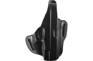 Gould & Goodrich Two Slot Pancake Holster, Black, Right B802G19